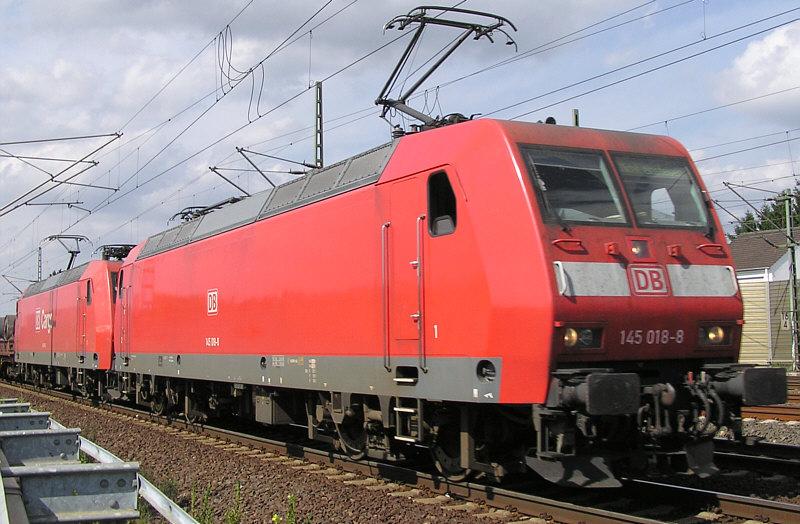 Br 145 Auch Im Personenzugdienst Stummis Modellbahnforum