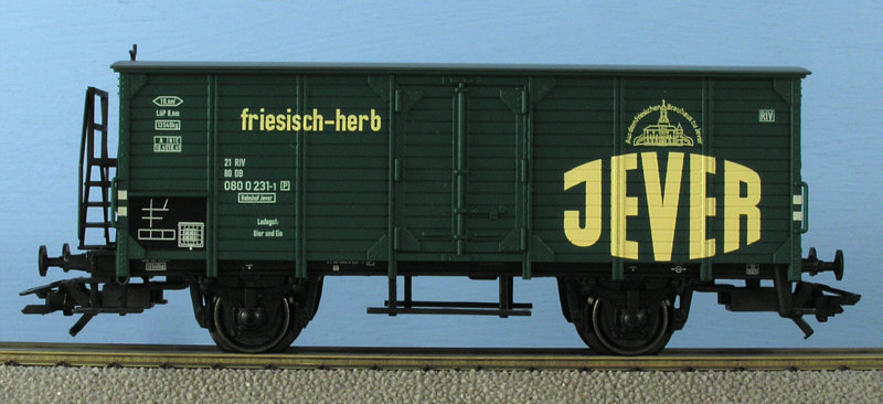 Jever beer car