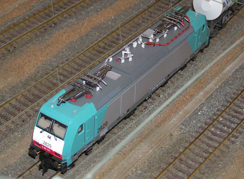 SNCB series 28 model, maybe from L.S.Models